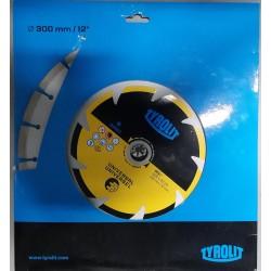 Disco 300 para motoserra corte a seco